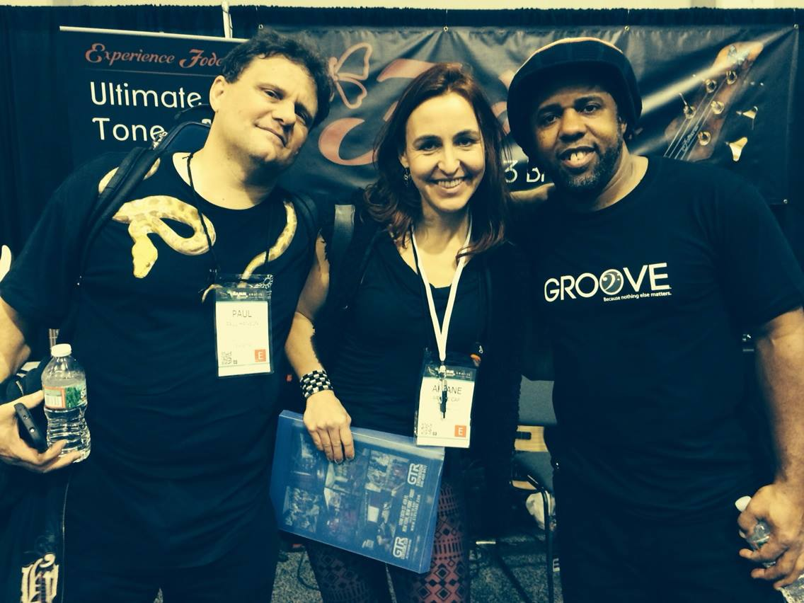 WIth Paul Hanson and Victor Wooten
