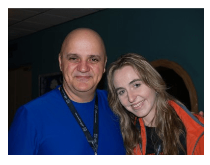 With Frank Gambale