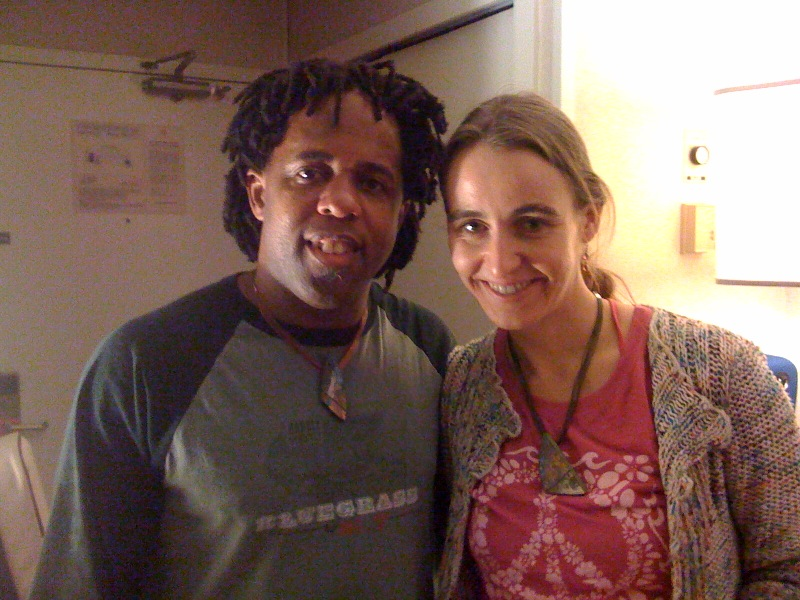 With Victor Wooten, whose camps (and Steve Bailey's) changed everything