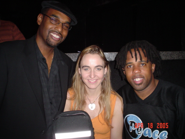 WIth Gerald Veasley and Victor WOoten