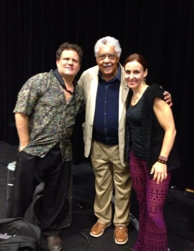 WIth Paul Hanson and Rufus Reid
