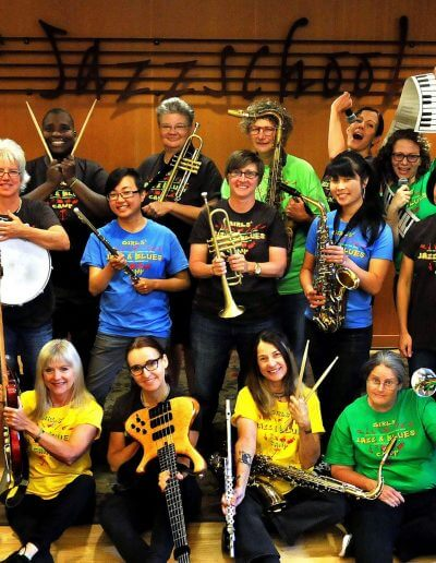 Faculty of Women's Jazz and Blues Camp