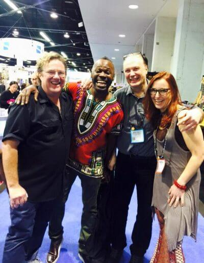 With Stu Hamm, Armand -Sabal-Lecco, Olof Strandberg