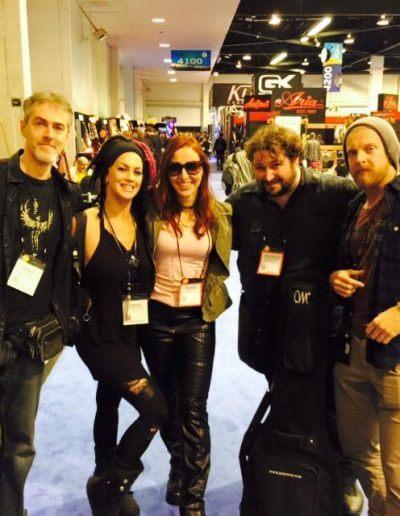 With Wolf Wein, Tanya O'Callahan, Malafede, Hadrien Ferraud